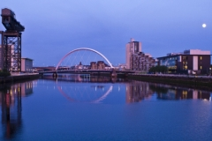 Blue Arc Over the Clyde