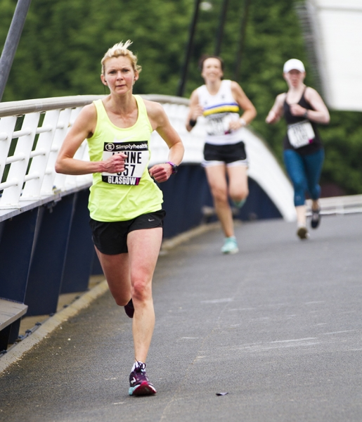 Women's 10k Glasgow 10 June 2018, lynne whitefield