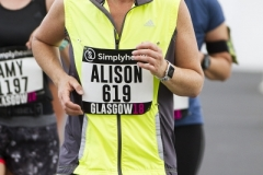 Women's 10k Glasgow 10 June 2018, Alison Watt