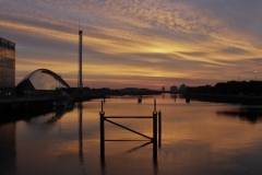 Sunset Over the Clyde 1