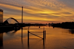 Sunset Over the Clyde 2