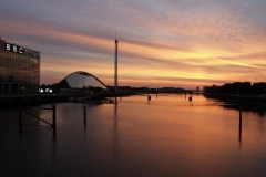 Sunset Over the Clyde 3